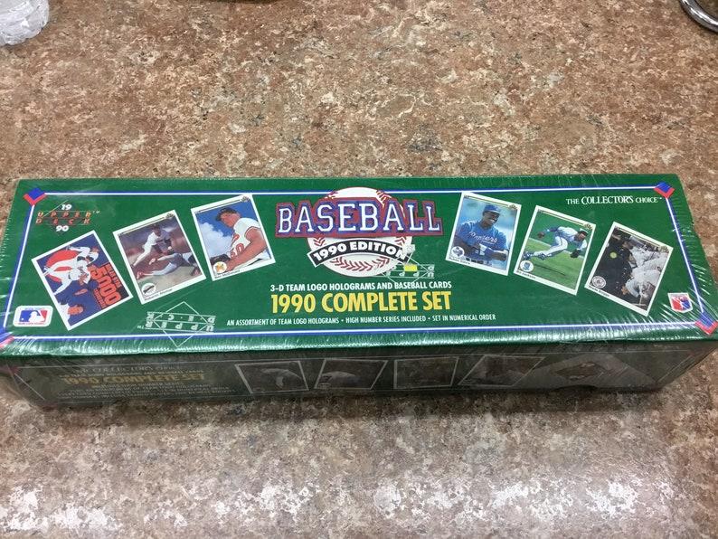 1990 Upper Deck Baseball Complete Set Unopened
