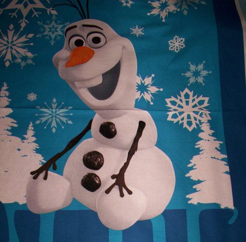 7c2dbbd2b9e84 Fabric panel cotton Frozen Olaf Disney Springs 36 x