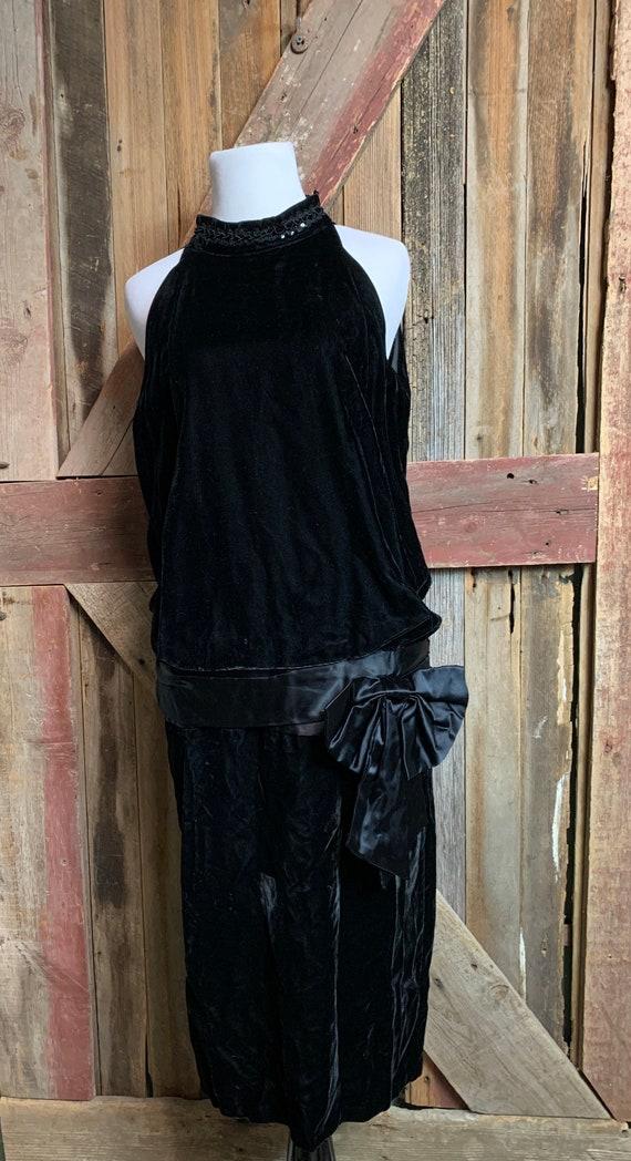 Gunne Sax Jessica McClintock Flapper Dress - image 1