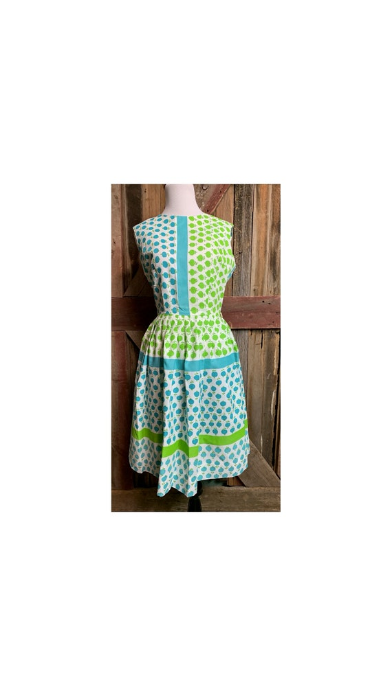 Vintage 70's Fit N Flare Dress