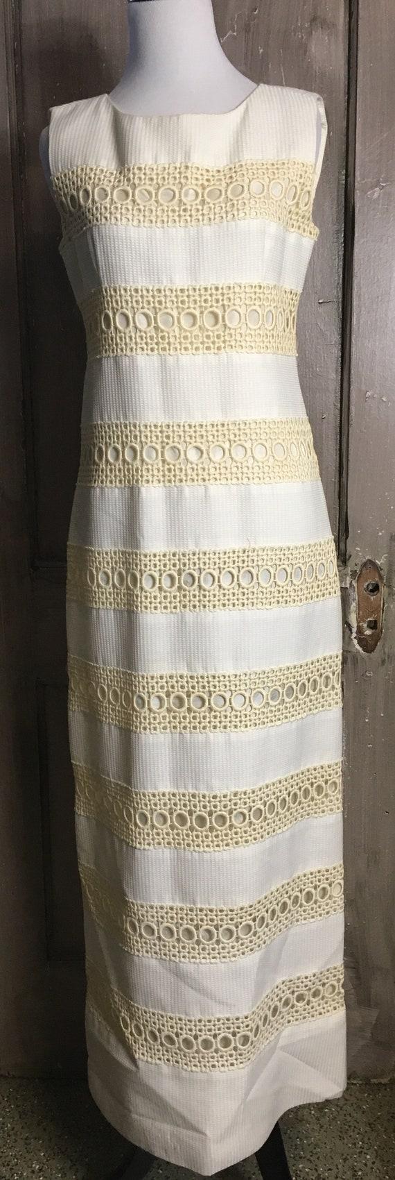 Vintage 70's Long Maxi Dress