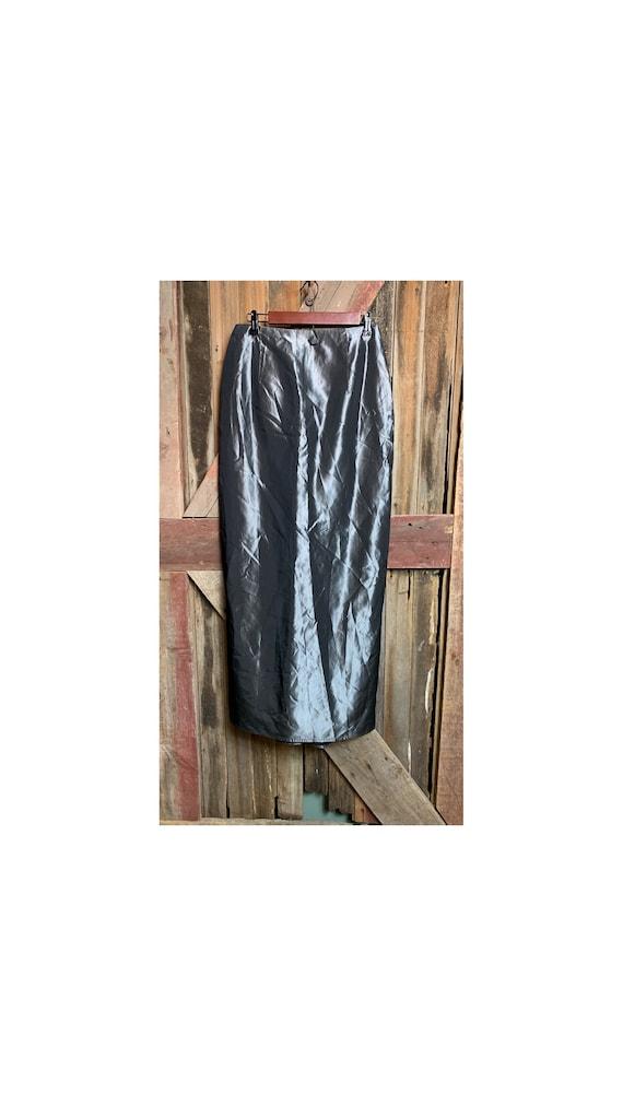 Vintage 80's Jessica McClintock Floor Length Skirt - image 1