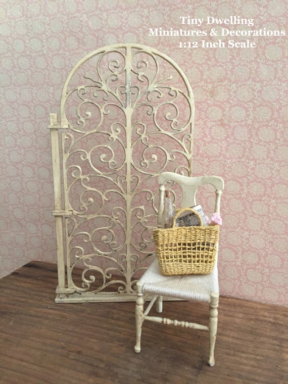 """Dollhouse Miniature 1:12 Scale Room Divider 8/"""" ceiling"""