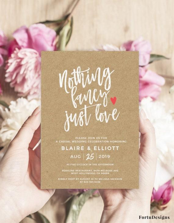 Invitation Suite Rosaline Editable Wedding Invite PDF Wedding Invitation SUITE Instant Download Printable
