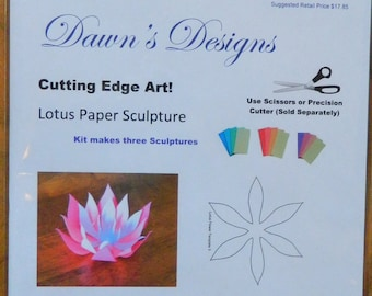 Lotus Paper Art Kit