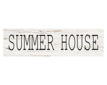 Summer House Sign- Summer Home Sign