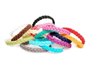 Little Leather Bracelets / Baby Bracelets/ Essential Oil Diffusers Bracelet / Kids Essential Oil Jewlery /