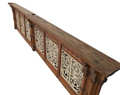 Ornate Antique French Gothic Church Railing. Turn of Century, Nice Architectural Statement. SKU 9593