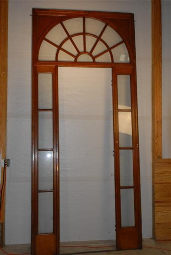 Interior French Door Surround Sidelights and Transom 100 Tall