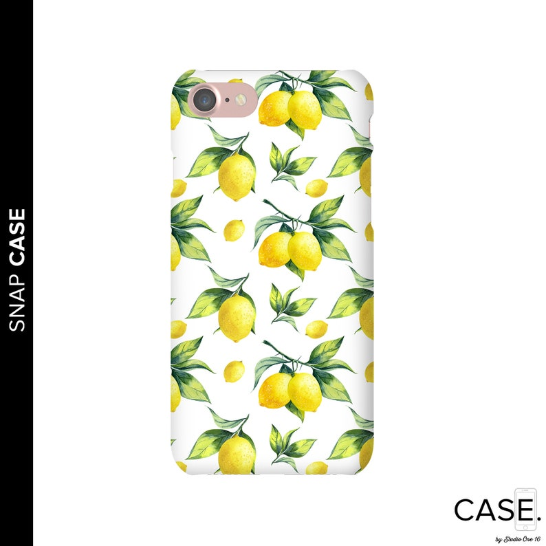 lemon phone case iphone 8