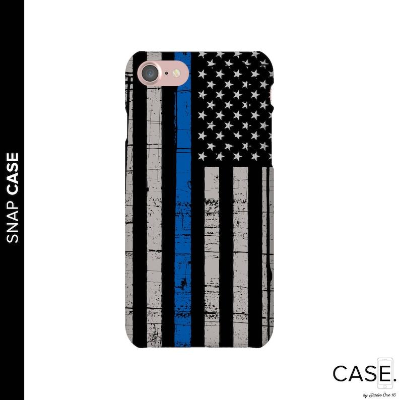 quality design bf3bd 513ca Thin Blue Line Phone Case, Police Phone Case, iPhone 8 Police Case, Thin  Blue Line iPhone Case, Samsung Phone Case, Police Case, iPhone X