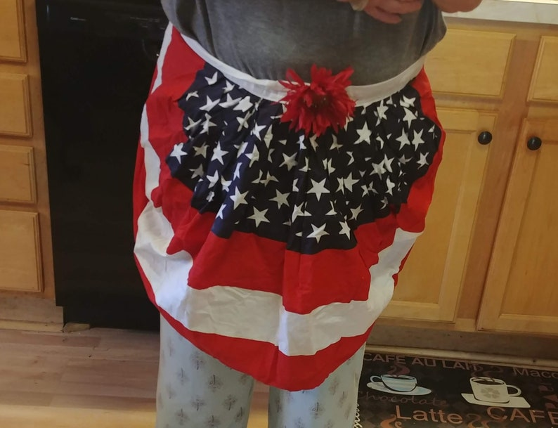 All American Apron for the patriotic cook image 0