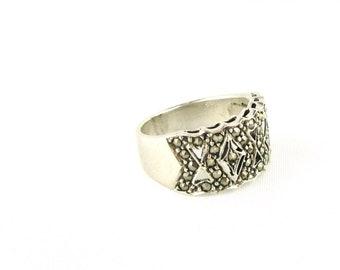 Vintage Marcasite Ring