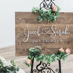 Wedding Sign, Wedding Welcome Sign, Welcome Wedding Sign Wood, Wedding Signage, Wooden Wedding Sign, Welcome to our Wedding Sign,