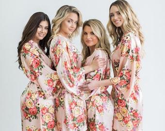 Black floral robe  40ff782f8