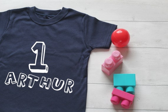 Personalised 1st 2nd 3rd 4th 5th Boys Birthday TSHIRT OUTFIT TOP Cake Smash hat