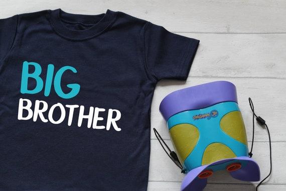 Big Brother Sister Childrens Tshirt Slogan Top