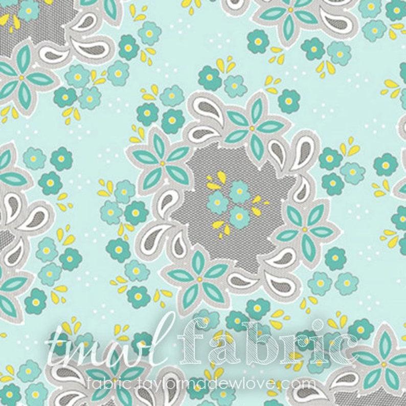 LAST CHANCE Woven Fabric  Sweet Harmony  Flower Pattern on image 0