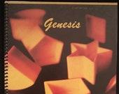 Genesis LP notebook (8.5 quot x 11 quot )