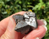 Magnetite Specimen! Magnetite with Triangle Formations! Magnetic Magnetite from Utah! USA Collector Stone