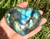 Large Labradorite Heart! ...