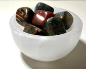 Bloodstone Tumbled Stones! Bloodstone for Courage! Healing Crystals, Healing Stones