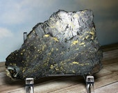 Chalcopyrite Magnetite Bornite Slab! Like Healer's Gold! Collector Stone, Mineral Display