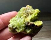 Amazing Pyromorphite! Pyromorphite Specimen!  Pyromorphite! Victory Stone! Colelctable Gem, Healing Crystals