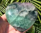 Beautiful Fluorite Heart!...