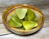 Noble Serpentine Healerite Tumbled Stones! Washington State Healerite Stones! Green Serpentine, Healing Stones