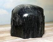 XXL Black Tourmaline! 2.9 lb Black Tourmaline Schorl Display Specimen! 1099 gm Rough & Polished Black Tourmaline Schorl Healing Crystals