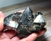 Magnetite! Large Magnetite Tetrahedron Dodecahedron Shapes! Magnetic Rock from Utah! USA Collector Stone