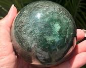 Beautiful Fuchsite Sphere...