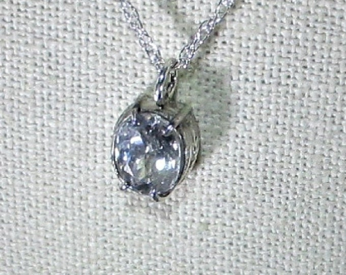genuine Mexican yellow labradorite gemstone in handmade sterling silver pendant necklace