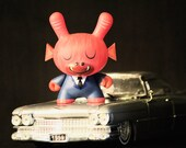 Let's Ride - dunny, toy photography, pop art, kidrobot, amanda visell, urban vinyl, urban, geek, wall art, macro, street photography