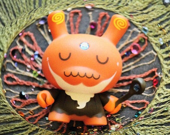 Mystical - toy art print, photography, macro, groovy, psychadelic, zen, wall art, pop art, kidrobot, dunny, geek, nerd, urban vinyl, toy