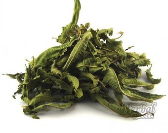 Organic Lemon Verbena, Greek, Dried, Leaves, Herb 100g (3.5oz.)