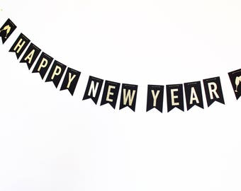 new years banner 2018 banner new years eve party new years etsy