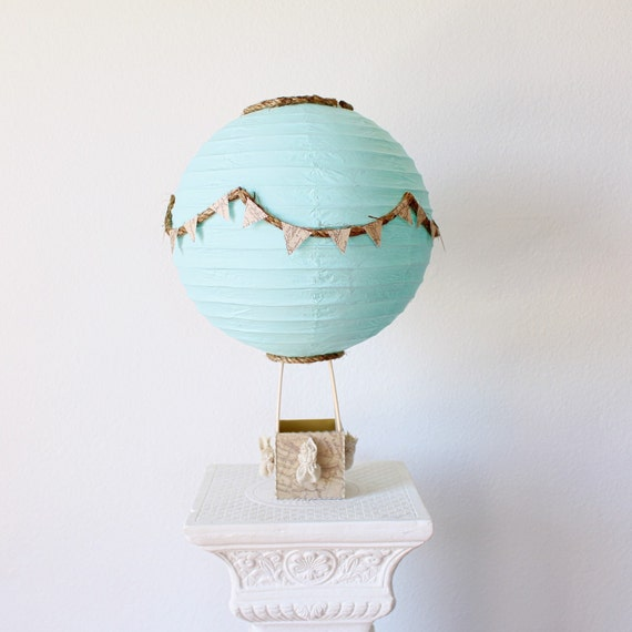 Hot Air Balloon Centerpiece Decoration