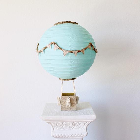 Hot Air Balloon Centerpiece Decoration Travel Theme Centerpiece