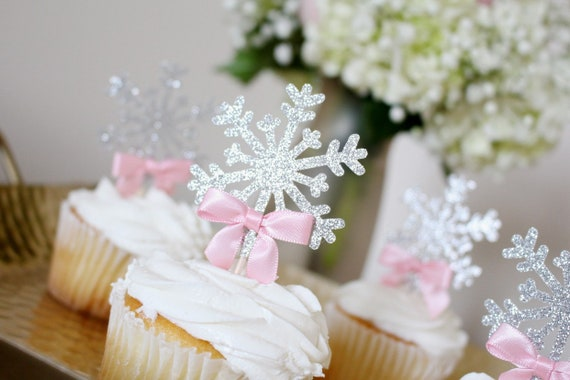 Snowflake Cupcake Topper Winter Onederland Boy Onederland Party. Winter Wonderland Cupcake Toppers Winter Onederland Cupcake Toppers