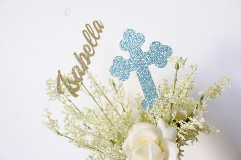 Superb Baptism Centerpieces Baptism Decor First Communion Centerpieces Christening Centerpieces Baptism Cross Centerpieces Mi Bautizo Centerpieces Home Interior And Landscaping Oversignezvosmurscom