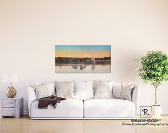 Wild Horse Gallery Canvas U0027Morning Lightu0027