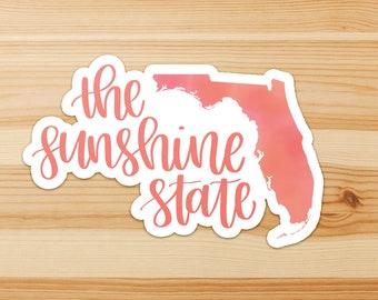 The Sunshine State - Florida Sticker