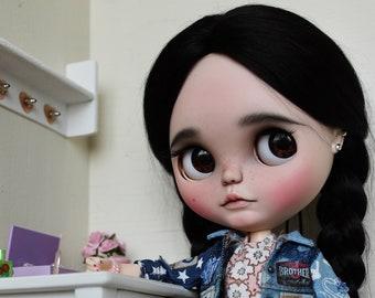 Niyka - Custom Blythe Doll, OOAK Art Doll by Jodiedolls