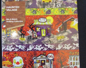 Anita Goodesign - Haunted Villiage - Machine embroidery - New