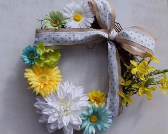 Floral Fun Wreath
