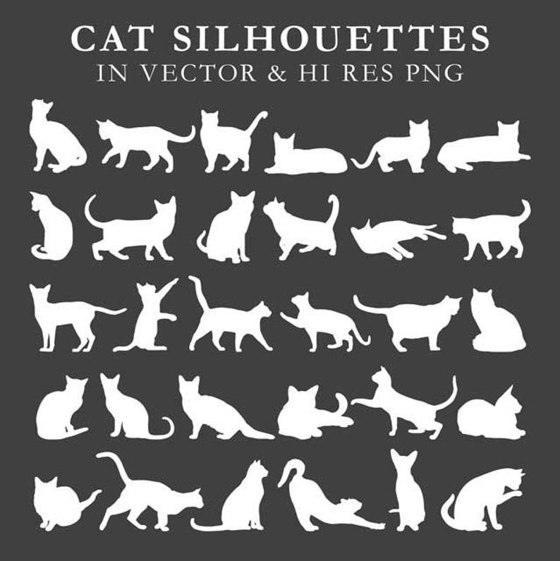 Download Cat Silhouette Clipart Cat Silhouette Clip Art Cat Clipart ...