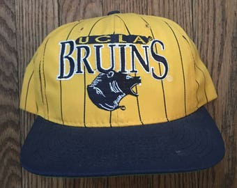 Vintage 90s The Game UCLA Bruins NCAA Snapback Hat Baseball Cap   Made In  USA 0f37dbf5398e