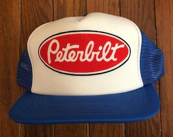 Camion Peterbilt vintage maglia Trucker cappello Snapback Hat berretto da  Baseball 6057e7acf381